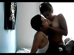 Hot Latin Couple making Erotic Make Out session