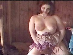 Amanda Strips Naked and Dances.