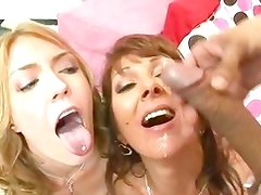 Sisterly threesome with two sexy babes