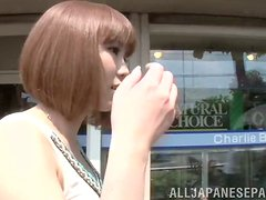 Horny Minami Ohiro has sex with her boyfriend in a bedroom