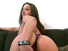 Brunette with tight pussy Amirah Adara loves having David Perry srilling her hard