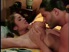 Girl in a poodle skirt fucks a stud