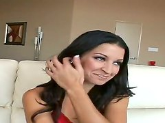 A naughty Latina chick Ann Marie has met Billy Glide in the street and the nipples