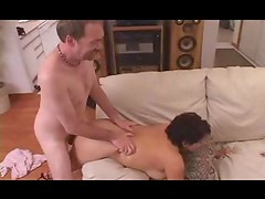 Chubby milf fucked hard from behind