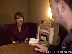 Curvaceous Japanese girl gets fucked in her hairy pussy
