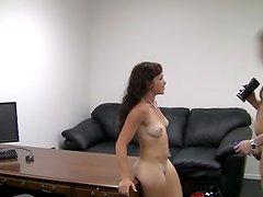 Babyface student gal is having anal sex