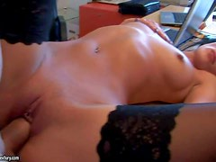 Shalina Divine is a beautiful black haired babe with apple