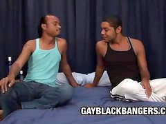 Braedon Fox and Malachi Sebastian - Black On Black Gay Sex Addicts