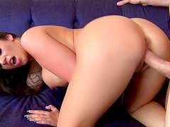 Flexible vixen is here to have gangbang