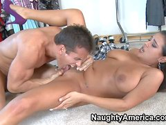 Chubby letina Penelope Piper with natural juicy knockers and cheep