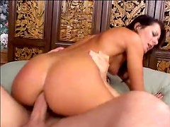 Hardcore anal with ball sucking and rimming