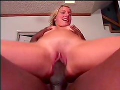 Teenage girl finds a big black cock lots of fun
