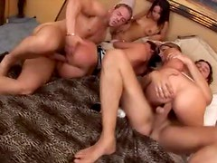 Group sex with big cocks in hot bodies