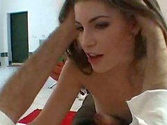 Adorable Czech beauty gives her partner a great blowjob