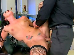 Hot Lexi likes it when her muff gets licked and penetrated hard after giving a spicy head