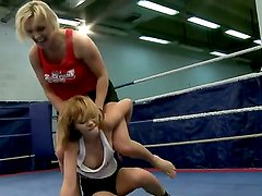 Nikita and Tanya Tate get along just fine outside of the ring. Inside of the ring,
