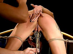 Wanna look at nasty enslaved woman Patricia Gold getting punished for bad behavior Then