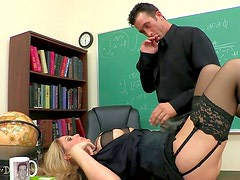 Wild milf enjoys horny dad