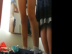 Changing room - two girls