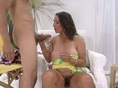 Persia Monir gets her wet snatch polished actively and then rammed hard from behind