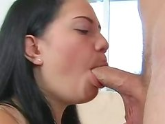 Vigorous Erotic Brandi Belle cant have enough of her Man's joystick like Candy