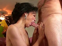 Horny granny with curly haired pussy Sage Hughes