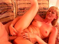 horny blonde wants the full thing