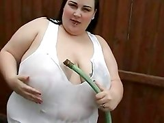 Solo #6 (SSBBW with Big Boobs Outdoors)