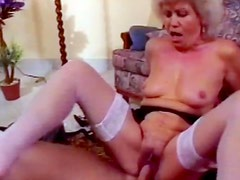 Busty milf Nevil fucks with tattooed bodybuilder