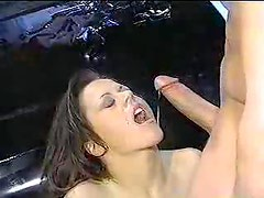A mixture of cumshot clips