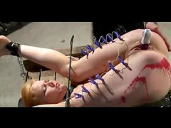 Pain and toy penetration for her