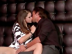Drinks and dick for Allie Haze