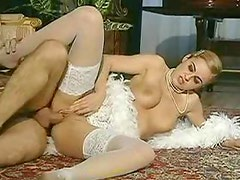 A wanking compilation with retro ladies