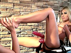Mistress Clara G. is forcing hot slave
