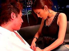Amazing japanese slut Yuna Shiina was payed a couple of bucks for a good sex with