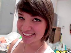 Amy Anderson is a sweet brown haired teen girl with