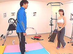 Fitness instructor gets t bang this booty babe Anna