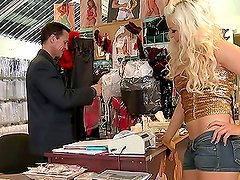 Blonde Whore Gets An Ass-Fucking