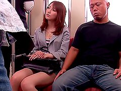Sexy MILF Takes A Hard Fucking On A Train