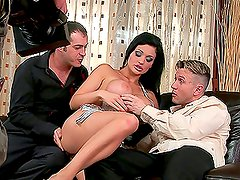 Backstage Scenes from MMF Threesome with Porn Superstar Aletta Ocean