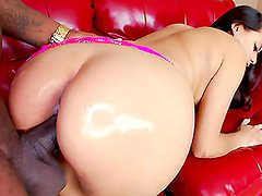 Selma Sins's Great Mexican Booty Destroyed By Huge Black Penis