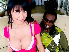Big Black Cock Banging Big Boobed Brunette Cougar Eva Karera