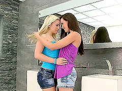 An Amazing Lesbian Scene With The Hot Bibi Noel And Sophie