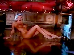 Desirable blondie Stephanie Glasson gets naked and shows off her hot tits.