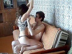Great Hardcore Amateur Sex in the Morning in Homemade Clip