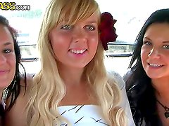 Stunning Blonde and Brunette Girls Get Naked on a Boat