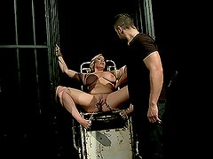 Blonde Bitch Is Only A Tied Up Piece Of Meat
