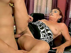 Horny Granny Lupita Gets Rammed Deep by a Hard Dick