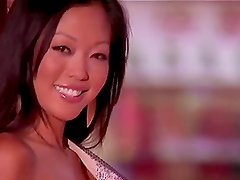 Grace Kim the hot Asian girl shows her naked body in China Town