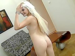 Fucking A Beautiful Blonde With Small Tits & Perfectly Shaved Pussy.